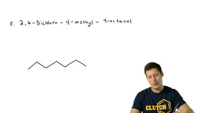 Write structural formulas for each of the following alcohols and alkyl halides...