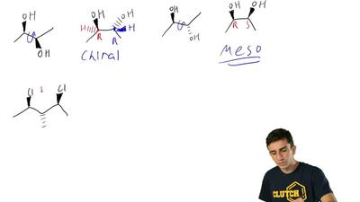 Identify whether each of the following compounds is chiral or achiral: ...