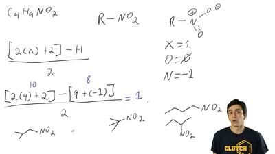 There are only four constitutional isomers with molecular formula C4H9NO2 that...