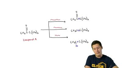 Compound A undergoes the following reactions:   (a) Which of the reactions sho...