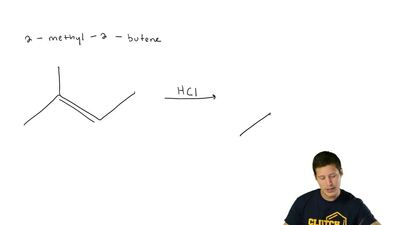 Write the structure of the major organic product formed in the reaction of 2-m...