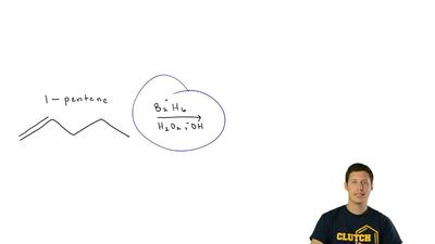 Write the structure of the major organic product formed in the reaction of 1-p...