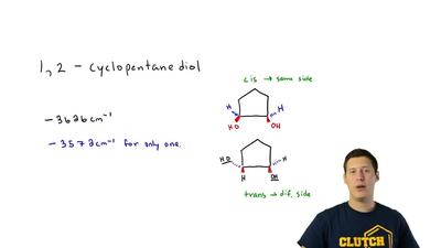 When two substituents are on the same side of a ring skeleton, they are said t...