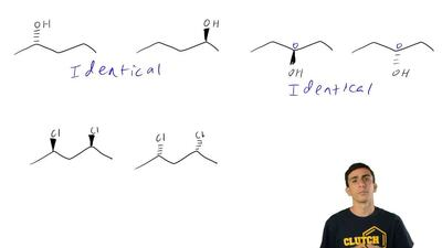 For each of the following pairs of compounds, determine the relationship betwe...