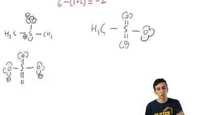 Give the formal charge (if one exists) on each atom of the following: ...