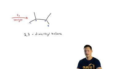 (b) How many alkene(s) are possible to yield 2,3-dimethylbutane by hydgrogenat...