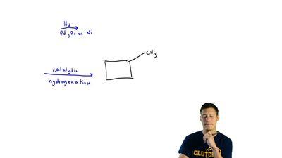 (c) How many alkenes yield methylcyclobutane? ...