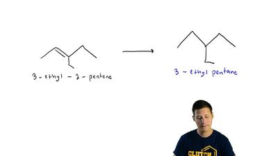 Specify reagents suitable for converting 3-ethyl-2-pentene to each of the foll...