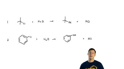 Which SN1 reaction of each pair would you expect to take place more rapidly? E...