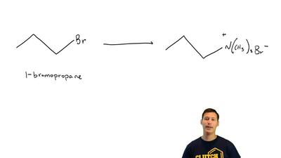 Show how you might use a nucleophilic substitution reaction of 1-bromopropane ...