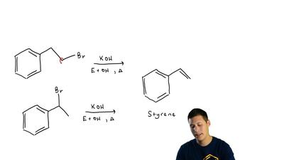 Your task is to prepare styrene by one of the following reactions. Which react...