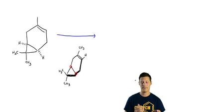 Hydrogenation of 3-carene is, in principle, capable of yielding two stereoisom...