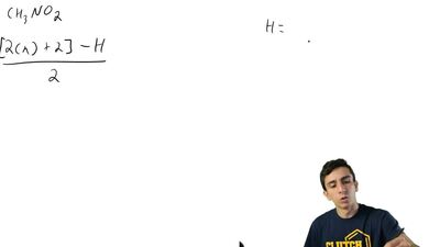 Write structural formulas for at least three constitutional isomers with the m...