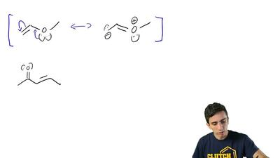 For the following write all possible resonance structures. Be sure to include ...