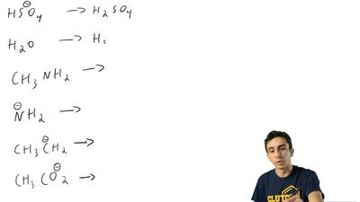 What is the conjugate acid of each of the following bases?  (a) HSO4- ...