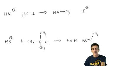 Supply the curved arrows necessary for the following reactions: ...