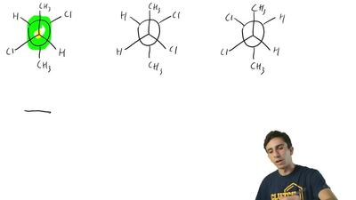Shown below are Newman projection formulas for (R,R)-, (S,S)-, and (R,S)-2,3-d...