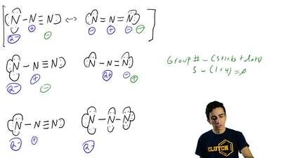 In each of the following pairs, determine whether the two represent resonance...