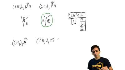 (b) Which is the stronger base: (CH3)N: or (CH3)3P: ? ...