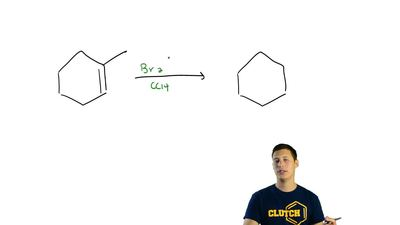 Write the structure of the major organic product formed in the reaction of 1-m...