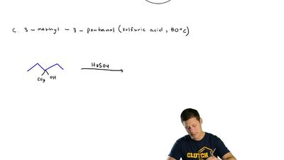 Write structural formulas for all the alkene products that could reasonably be...