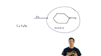 Choose the compound of molecular formula C 7H13Br that gives each alkene shown...