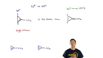(b) On the basis of your answer to part (a), compare the expected stability of...