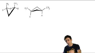 Which do you expect to be the more stable conformation of cis-1,3-dimethylcycl...