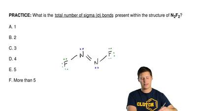 What is the total number of sigma (σ) bonds present within the structure of ...