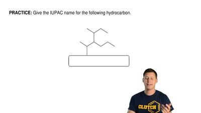 Give the IUPAC name for the following hydrocarbon. ...
