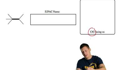 For the line angle drawing: give the IUPAC name for the compound AND draw the ...