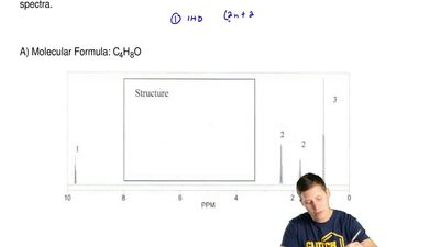 Predict the structure of the compound that gives rise to the following 1H NMR...