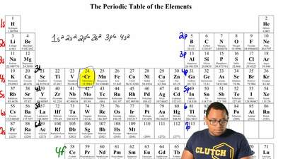 How many electrons are in the third principal level ( n = 3 ) of a chromium (C...