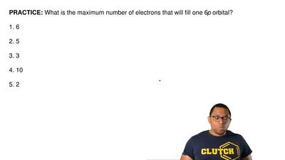 which electron configuration represents a clutch prep