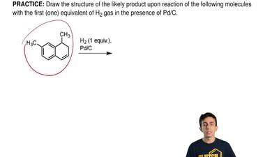 Draw the structure of the likely product upon reaction of the following molecu...