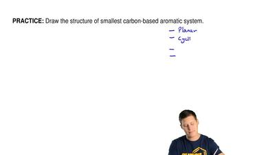 Draw the structure of smallest carbon-based aromatic system. ...
