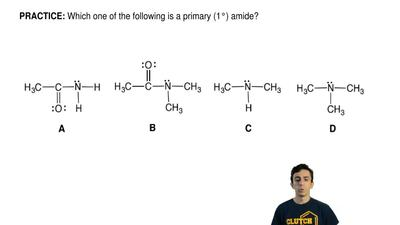 Which one of the following is a primary (1°) amide? ...