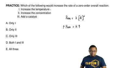 Which of the following would increase the rate of a zero-order overall reactio...