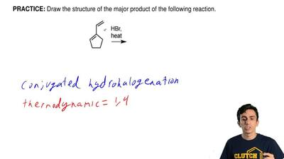 Draw the structure of the major product of the following reaction. ...