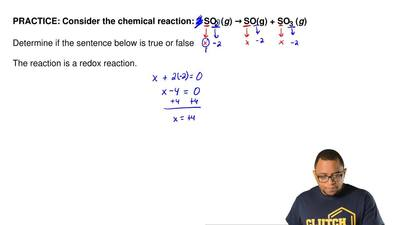 Consider the chemical reaction: 2 SO2(g) →SO(g) + SO3(g)  Determine if the ...