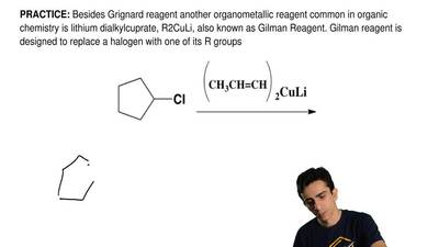 Besides Grignard reagent another organometallic reagent common in organic chem...
