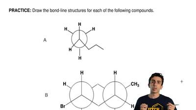 Draw the bond-line structures for each of the following compounds.  ...