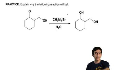 Explain why the following reaction will fail.  ...