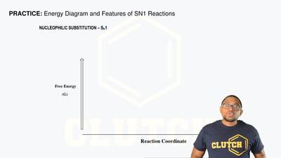Energy Diagram and Features of SN1 Reactions ...