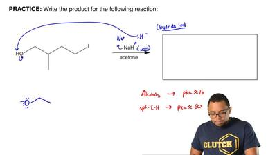Write the product for the following reaction: ...