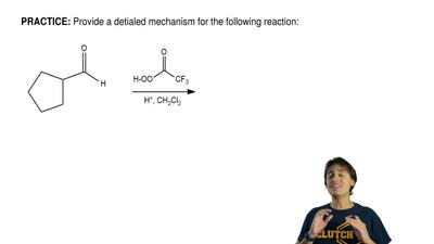 Provide a detialed mechanism for the following reaction: ...