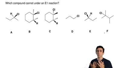 Answer each of the following questions dealing with the given alkyl halides.  ...