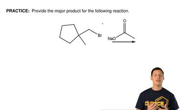 Provide the major product for the following reaction.  ...