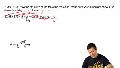 Draw the structure of the following molecule. Make sure your strucuture show s...