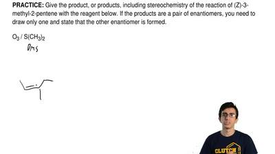 Give the product, or products, including stereochemistry of the reaction of (Z...